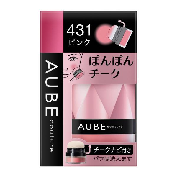 ぽんぽんチーク / 431ピンク / 3.5g