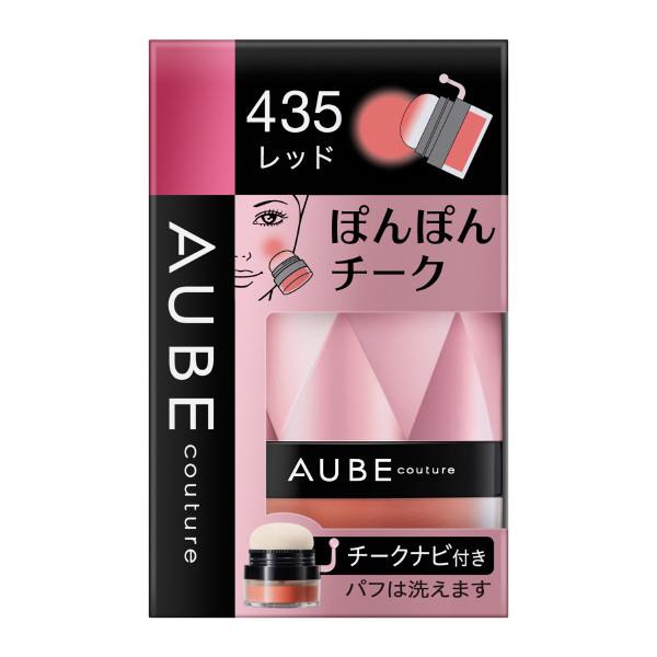 ぽんぽんチーク / 435レッド / 3.5g