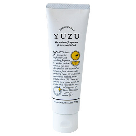 YUZU 歯磨き粉 / 70g / 柚子 / 柚子