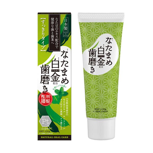 なた豆白金歯磨き / NH / 100g