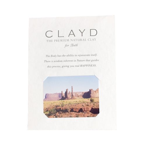 CLAYD for Bath / 30g