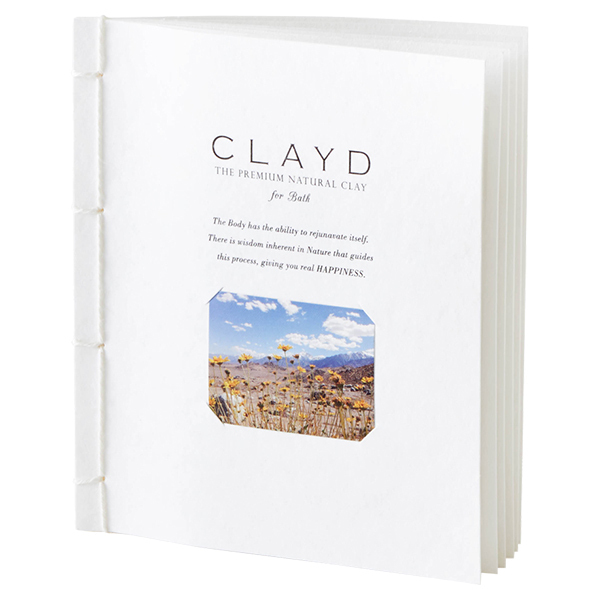 CLAYD for Bath  WEEKBOOK / 30g×7袋入り