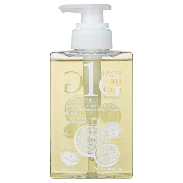 ソープ オブ ヘア・1-G / シャンプー(本体)/スタンダードサイズ / 265mL / グレープフルーツの香り