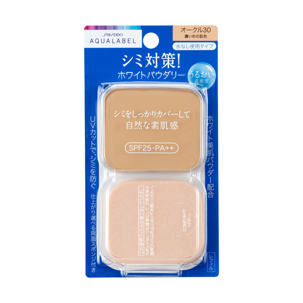 ホワイトパウダリー / SPF25 / PA++ / レフィル / オークル30 / 11.5g / 無香料