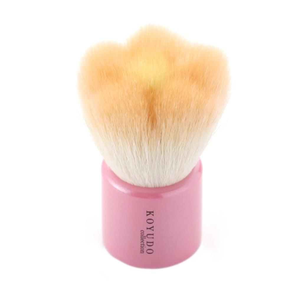 フラワー洗顔ブラシ オレンジ / 68mm