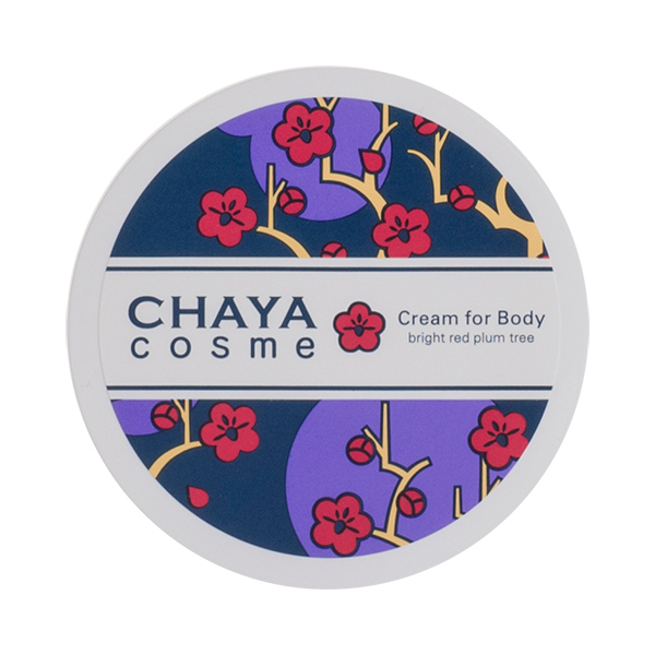 CHAYA COSME クリームフォーボディ 紅い梅の香り / 50g