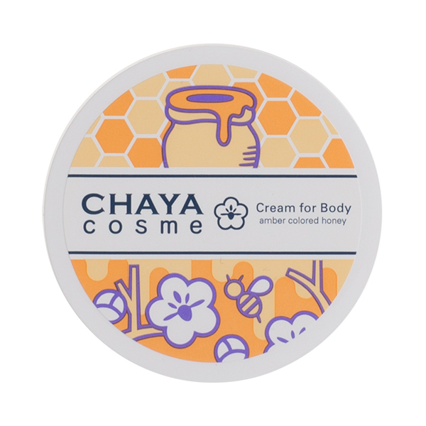 CHAYA COSME クリームフォーボディ 琥珀色の蜂蜜の香り / 50g