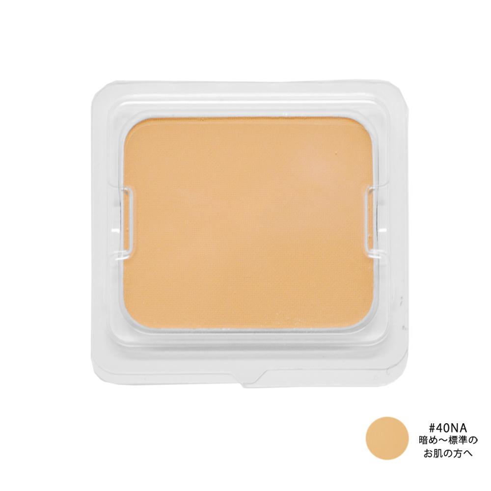 ミネラルシルクプレストファンデーション / SPF20 / PA++ / #40NA 暗め~標準のお肌の方へ / 10g(レフィル)