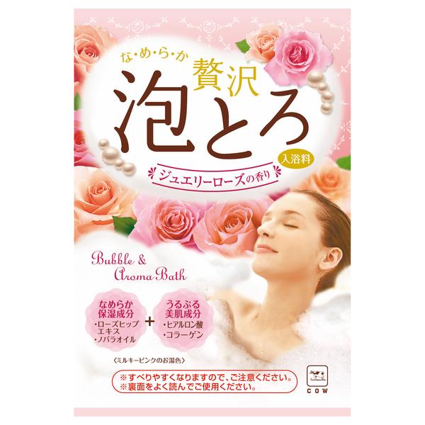 贅沢泡とろ入浴料ジュエリーローズ / 30g