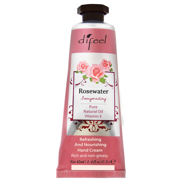 ROSEWATER Natural Hand Cream / 42ml