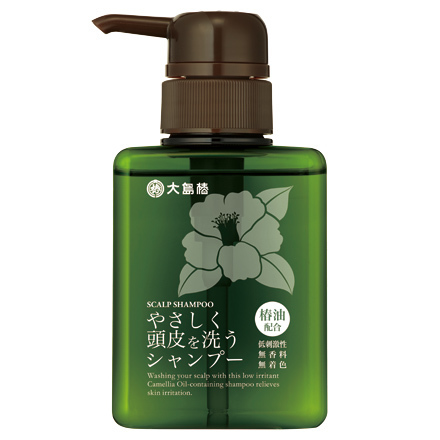 やさしく頭皮を洗うシャンプー / 300ml