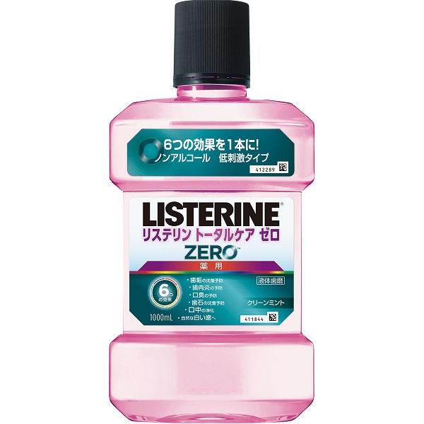 薬用 リステリン トータルケアゼロ / 1000ml