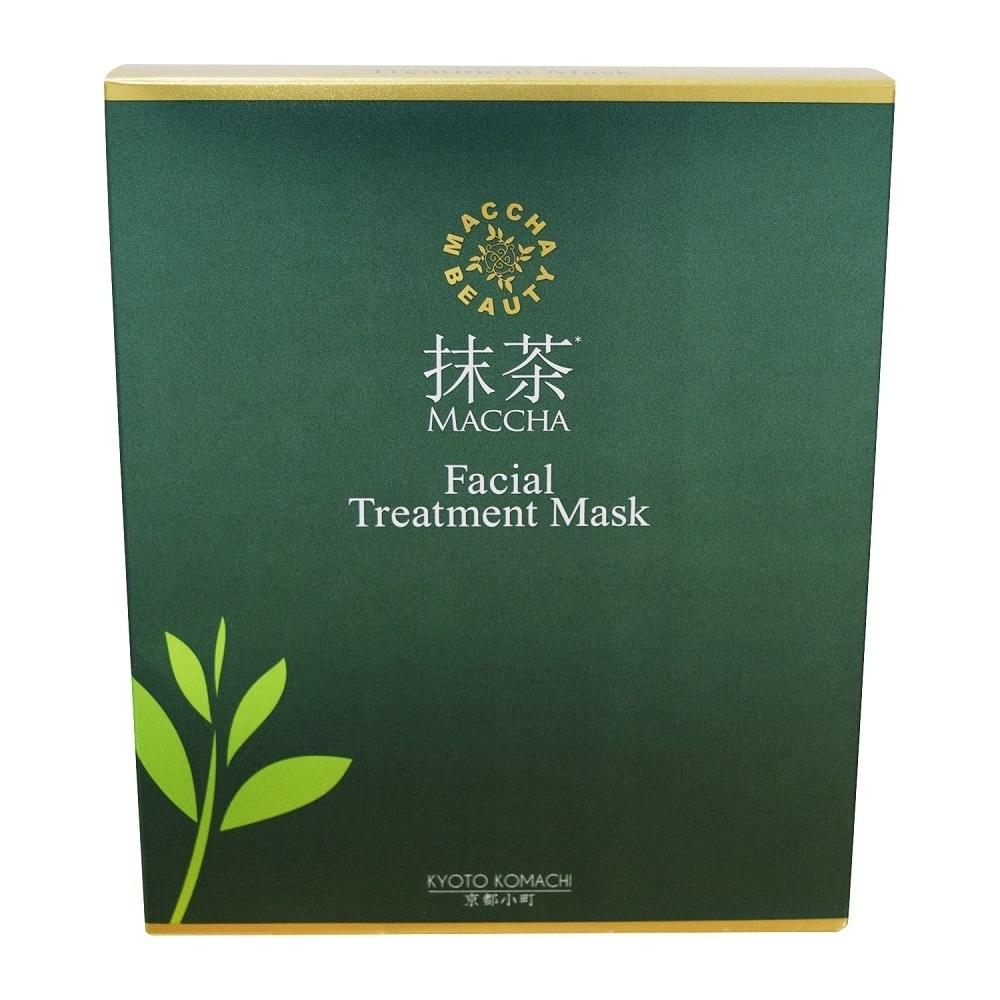 抹茶美人フェイシャルトリートメントマスク / 15枚入り / 抹茶の香り(リナロール)