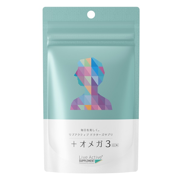 プロティアドクターズ サプリ +オメガ3 / 60粒(2カ月分)