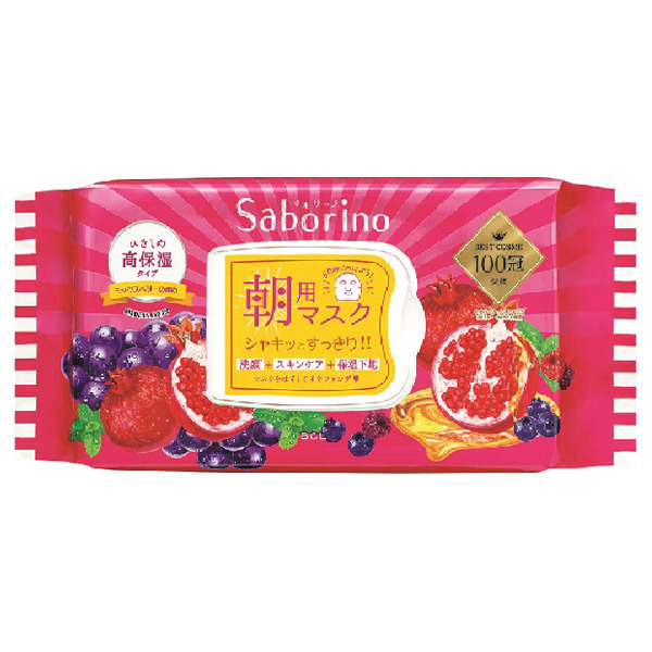目ざまシート 完熟果実の高保湿タイプ / 28枚入り / 272mL