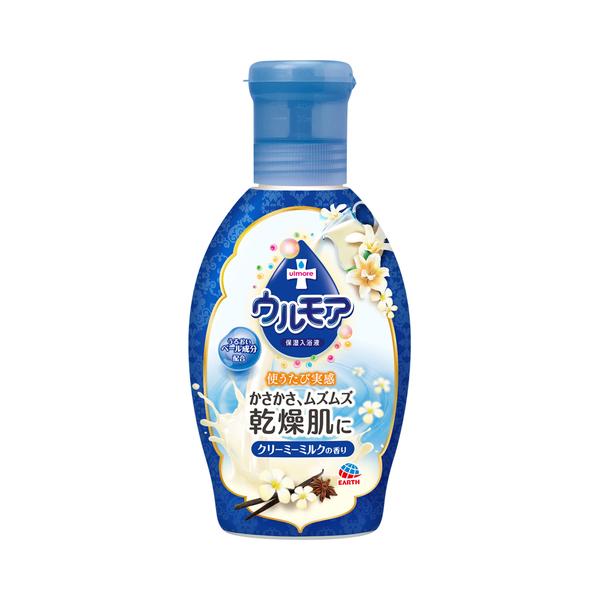保湿入浴液 ウルモア クリーミーミルクの香り / 600ml