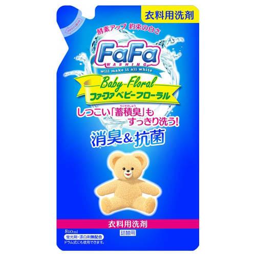 ファーファ液体洗剤 ベビーフローラル / 詰替え / 810ml