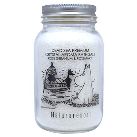 ナリュラリゾート ムーミン バスソルト ローズゼラニウム&ローズマリー / 280g