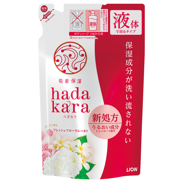 hadakara ボディソープ フローラルブーケの香り / つめかえ / 360ml