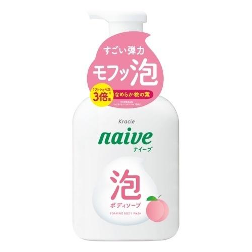泡で出てくるボディソープ(桃の葉エキス配合) / 500ml