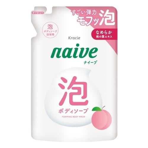 泡で出てくるボディソープ(桃の葉エキス配合) / 詰替用 / 450ml