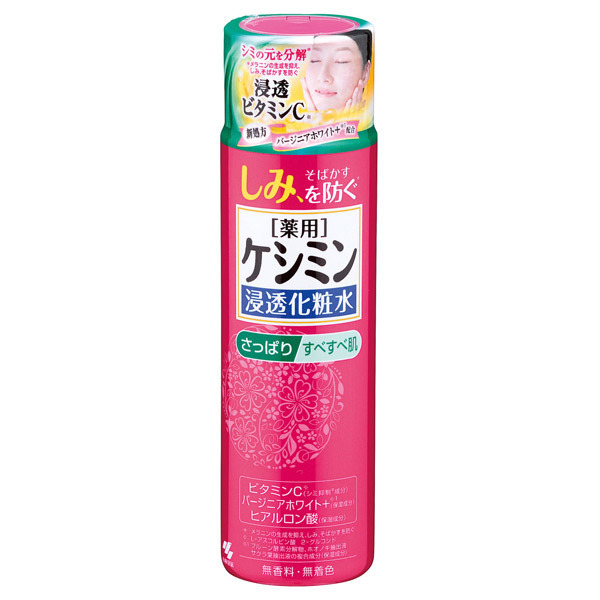 ケシミン浸透化粧水 さっぱりタイプ / 160ml / さっぱり