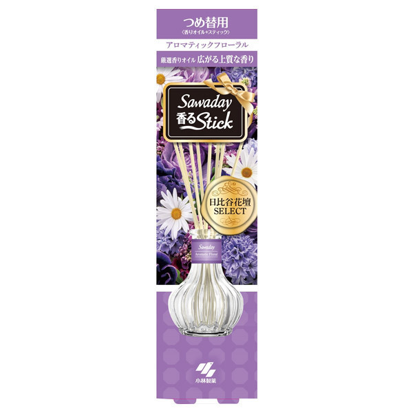 Sawaday香るStick / 詰め替え / 70ml / アロマティックフローラル