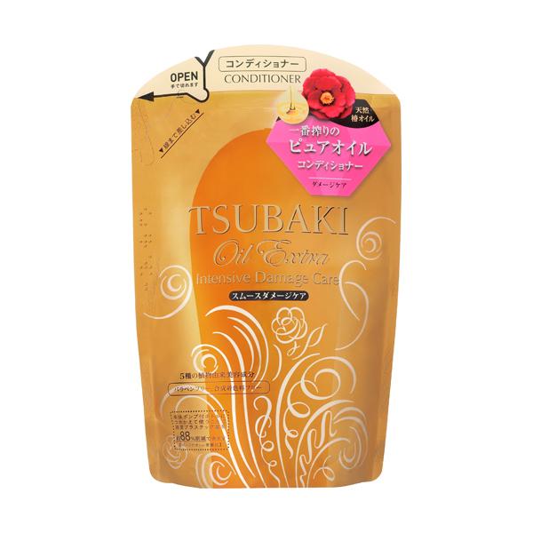 オイルエクストラ シャンプー/コンディショナー(スムースダメージケア) / コンディショナー つめかえ用 / 330mL / 自然の恵みを感じ、心華やぐ花々の香り