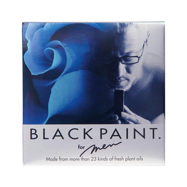 ブラックペイント(for MEN) / 黒色 / 120g / ハーブ系の自然な香り