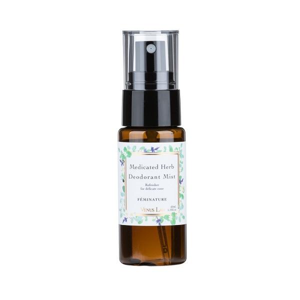 薬用ハーブデオドラントミスト / 40ml / フレッシュローズの香り