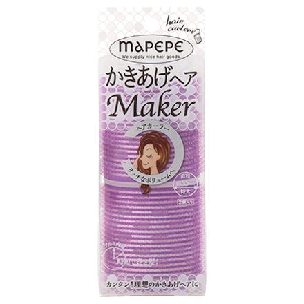 かきあげヘアメーカー / 特大 / パープル
