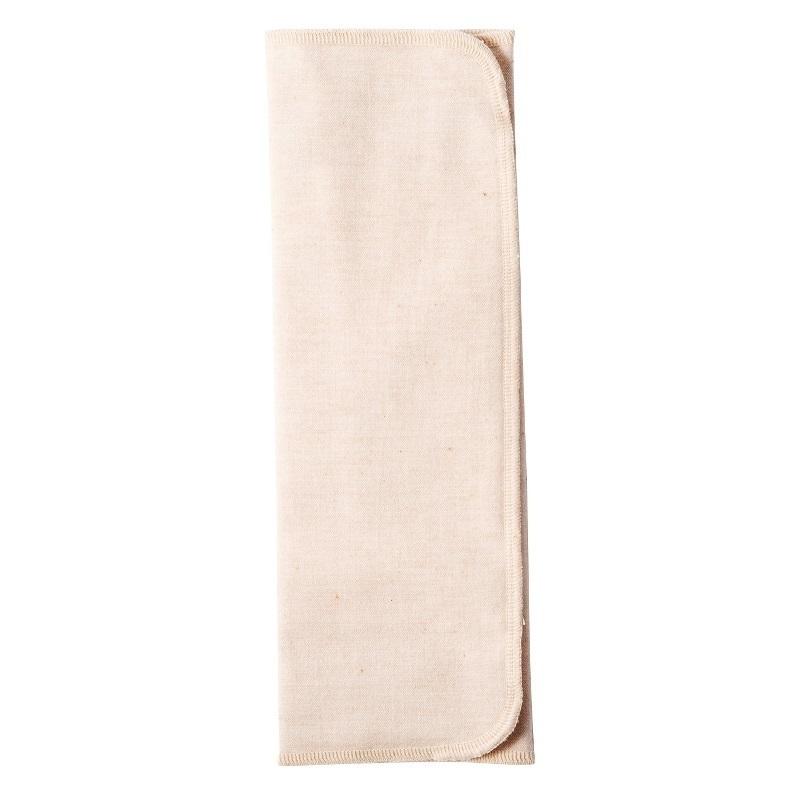布ナプキン / 【三つ折り】【厚手】【起毛/茶】 / 1枚