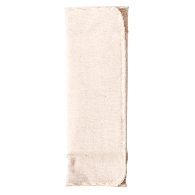 布ナプキン / 【三つ折り】【薄手】【起毛/茶】 / 1枚