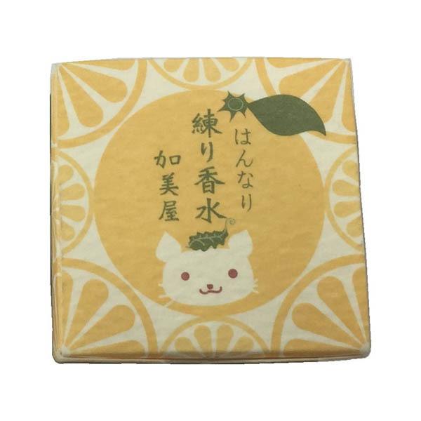 加美屋 練り香水 柚 / 5g