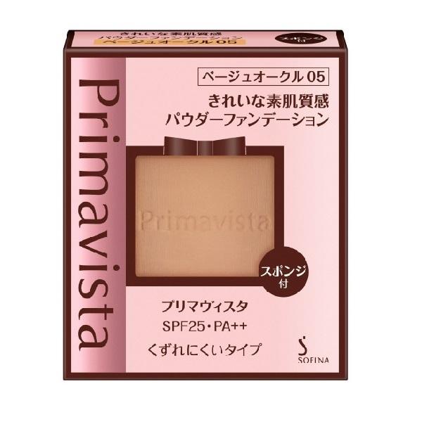 きれいな素肌質感パウダーファンデーション / SPF25 / PA++ / ベージュオークル05 / 9g