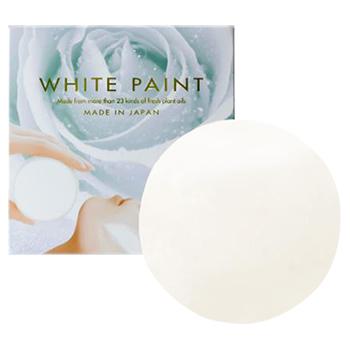 ホワイトペイント / ハーブ系の自然な香り / 白色 / 120g
