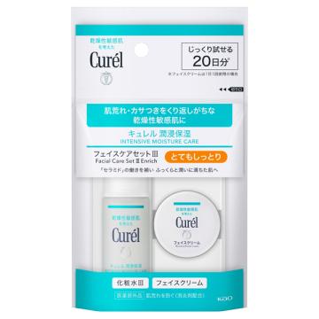 ミニセットIII (とてもしっとり) / 化粧水 III (とてもしっとり) 30ml●潤浸保湿フェイスクリーム 10g 1