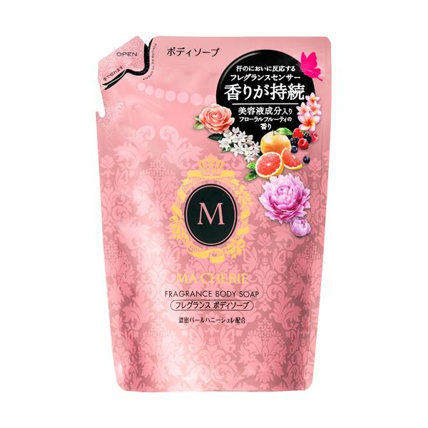 フレグランスボディソープ つめかえ用 / 詰替 / 350ml / うるおい艶肌に / フローラルフルーティーの香り