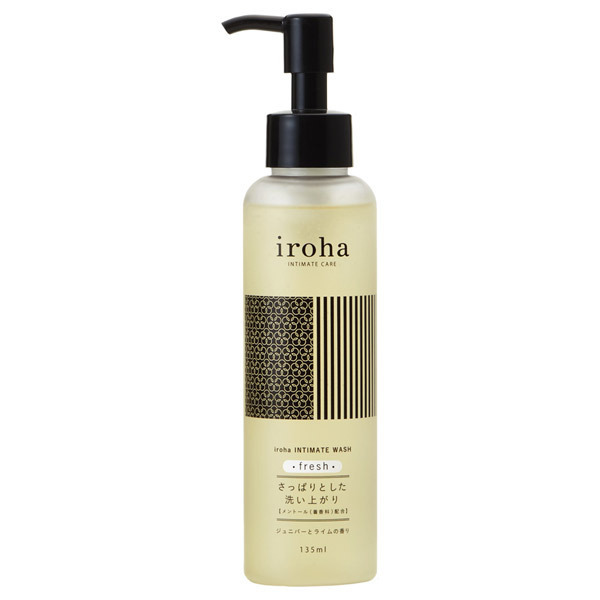 iroha INTIMATE WASH fresh / 135ml / ジュニパーとライムの香り