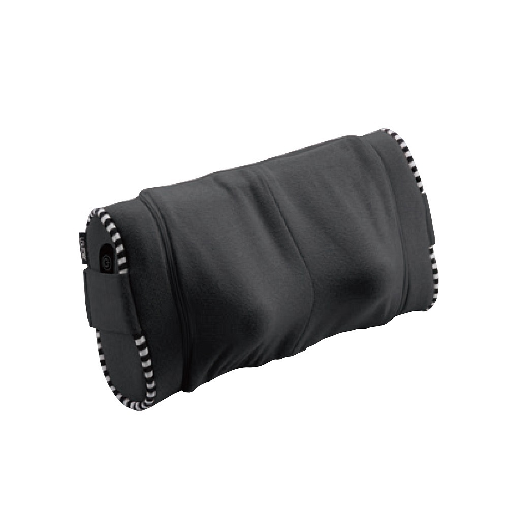 ルルド マッサージクッションSS ネック / ブラック / 1300g W330×L150×H200mm