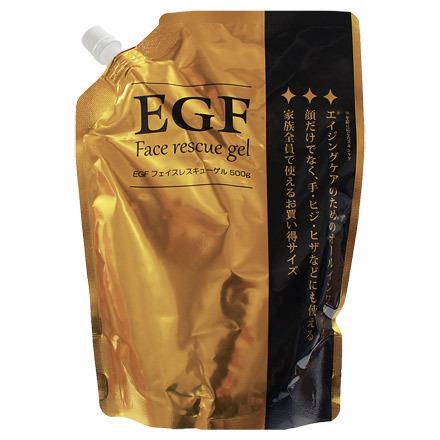 EGF フェイスレスキューゲル / 500ml