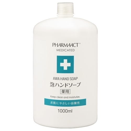 ファーマアクト 薬用泡ハンドソープ / 詰替大容量 / 1L