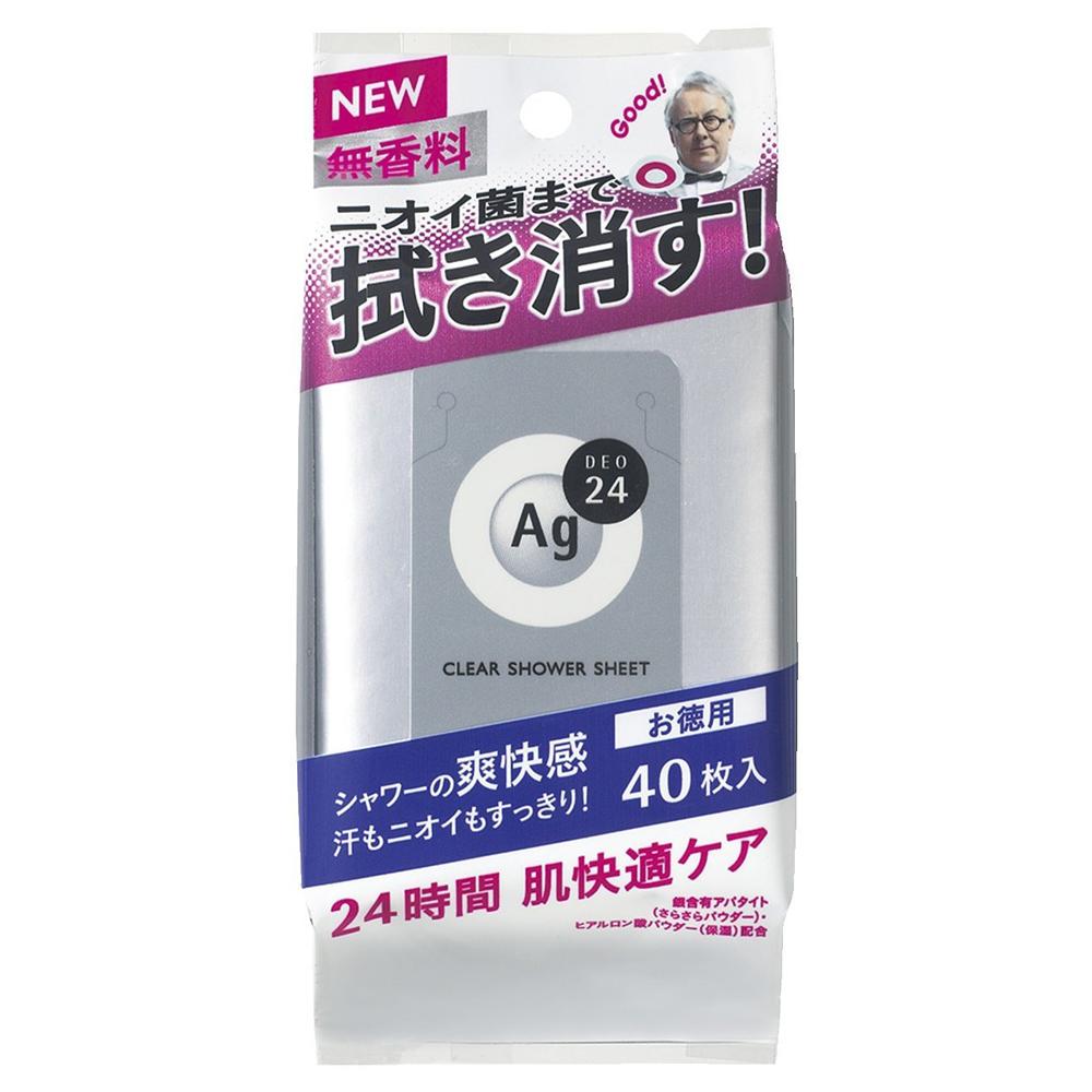 クリアシャワーシートNa(無香料) / L / 40枚 / さらさら