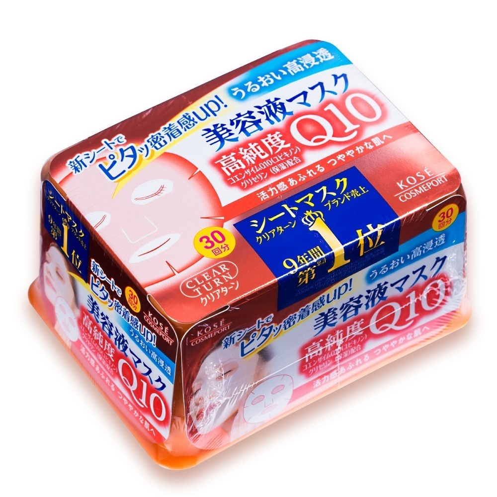 Q10 エッセンスマスクa (コエンザイムQ10) / 30枚