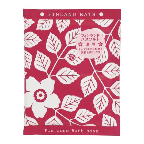 フィンランドバスソーク / 50g / ローズの香り
