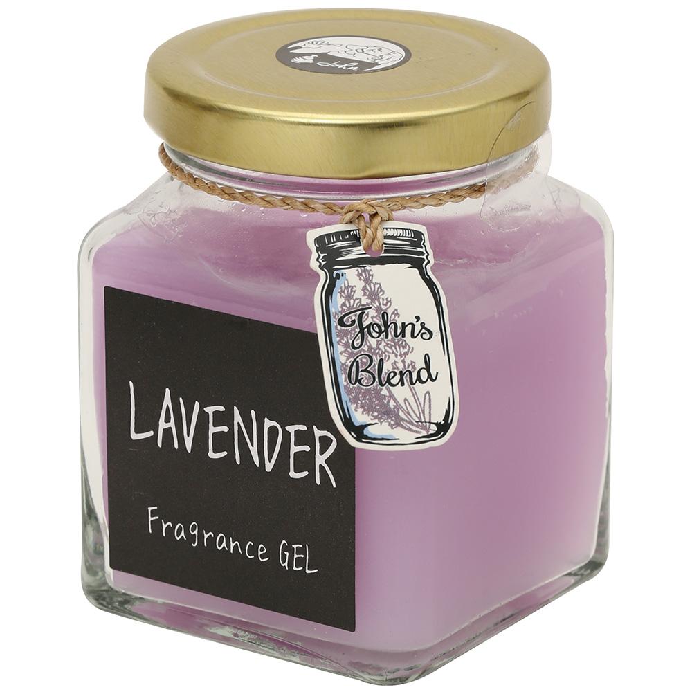 フレグランスジェル / ラベンダー / 130g / 心安らぐ人気のラベンダーの香り