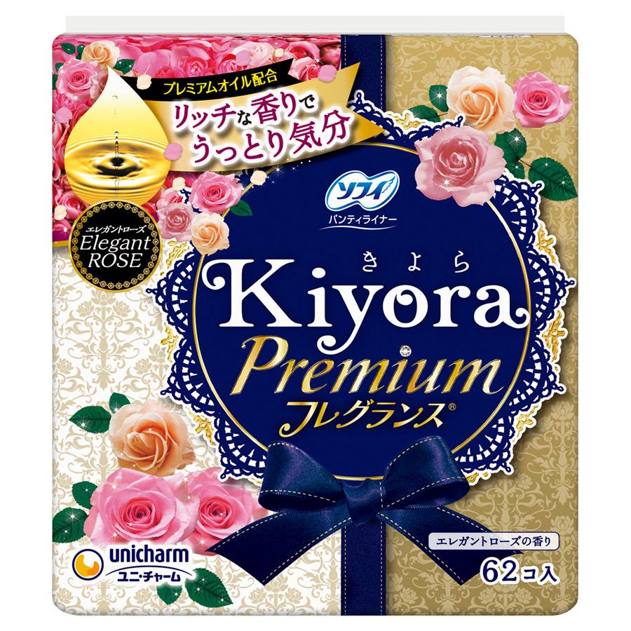 ソフィ Kiyoraフレグランス(R) / 62枚 / エレガントローズの香り