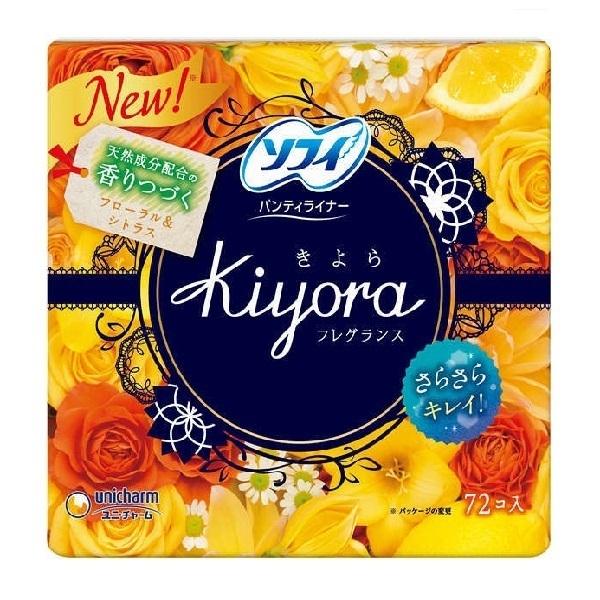 ソフィKiyora / 72枚 / フローラル&シトラスの香り