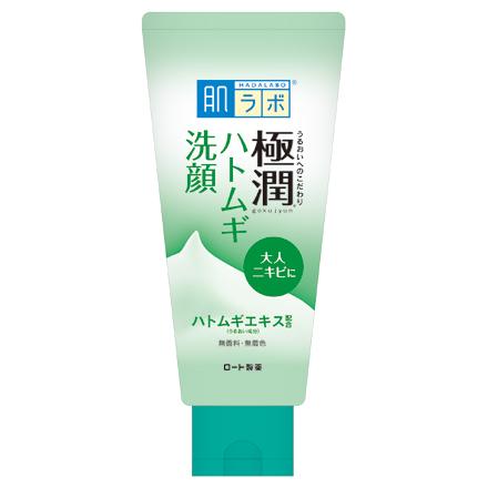 極潤 ハトムギ洗顔フォーム / 100g