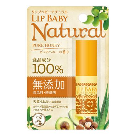リップベビーナチュラル ピュアハニーの香り / 4g